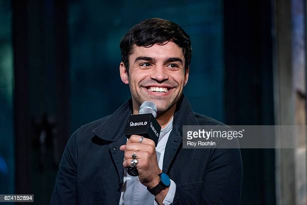 Actor Sean Teale discusses 'Incorporated' with The Build Series at AOL HQ on November 18 2016 in New York City