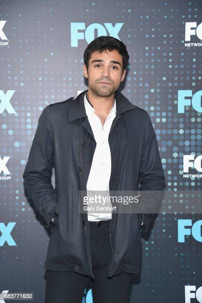 Actor Sean Teale of the show 'The Gifted' attends the FOX Upfront on May 15 2017 in New York City