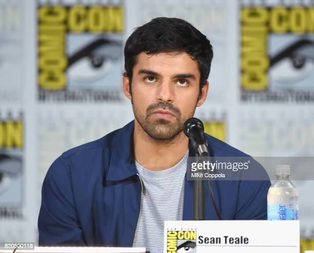 Actor Sean Teale onstage at ComicCon International 2017 'The Gifted' Extended Sneak Peek at San Diego Convention Center on July 21 2017 in San Diego...