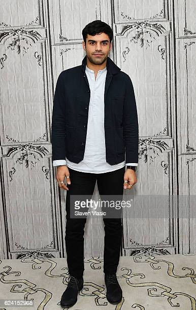 Actor Sean Teale visits AOL BUILD to discuss the new series 'Incorporated' at AOL HQ on November 18 2016 in New York City