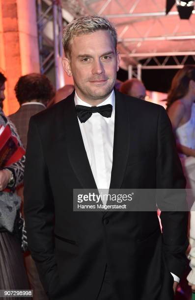Actor Sebastian Bezzel during the Bayerischer Filmpreis 2018 at Prinzregententheater on January 19 2018 in Munich Germany