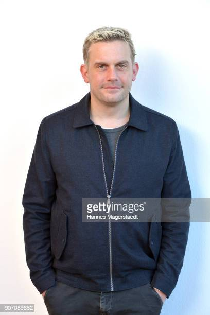 Actor Sebastian Bezzel during the BR Film Brunch at Literaturhaus on January 19 2018 in Munich Germany
