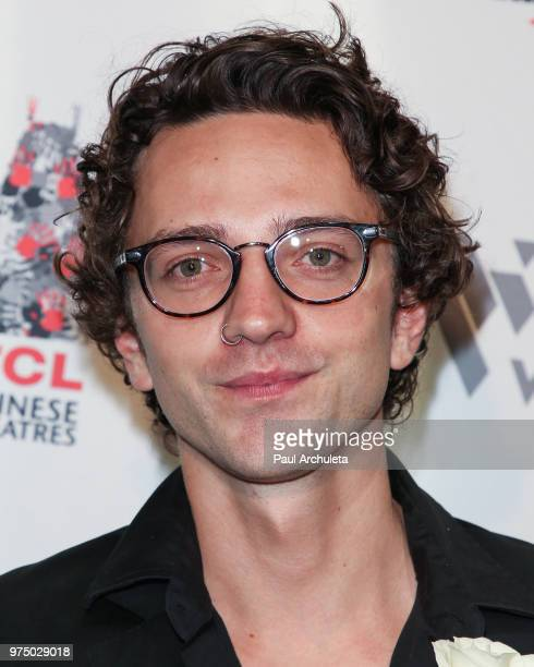 Actor Sebastian Gregory attends the premiere of 'Shooting In Vain' at the Dances With Films Festival at The TCL Chinese 6 Theatres on June 14 2018 in...