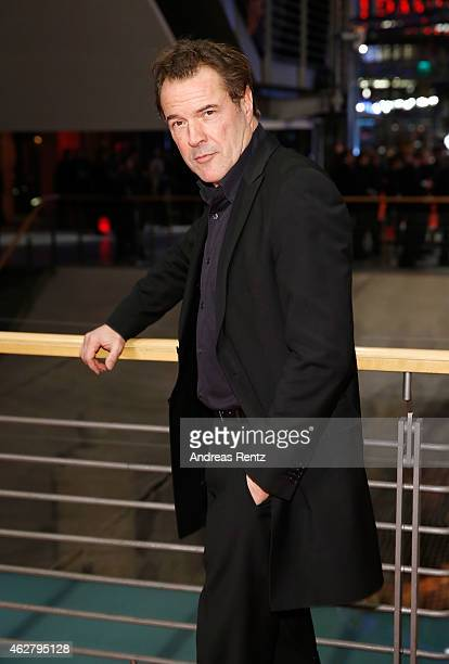 Actor Sebastian Koch attends the 'Nobody Wants the Night' Opening Night premiere during the 65th Berlinale International Film Festival at Berlinale...