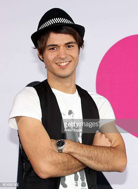 Actor Sebastian Koenig attends a photocall to the new German television SAT1 telenovela 'Anna und die Liebe' on August 18 2008 in Berlin Germany