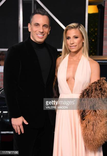 "Actor Sebastian Maniscalco and wife Lana arrive for the Los Angeles premiere of Netflix's ""The Irishman"" at the Chinese theatre in Hollywood on..."