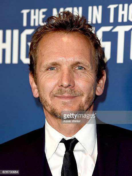 Actor Sebastian Roche arrives at the premiere screening of Amazon's Man In The High Castle Season 2 at the Pacific Design Center on December 8 2016...