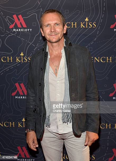 Actor Sebastian Roche attends The Marriott Content Studio's French Kiss film premiere at the Marina del Rey Marriott on May 19 2015 in Marina del Rey...