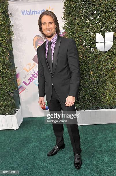 Actor Sebastian Rulli arrives at the 12th Annual Latin GRAMMY Awards held at the Mandalay Bay Resort Casino on November 10 2011 in Las Vegas Nevada