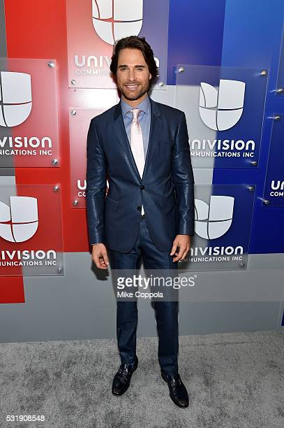 Actor Sebastian Rulli attends Univision's 2016 Upfront Red Carpet at Gotham Hall on May 17 2016 in New York City