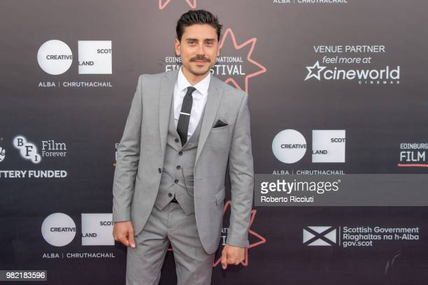 Actor Sebastian Sabene attends a photocall for the World Premiere of 'Lucid' during the 72nd Edinburgh International Film Festival at Cineworld on...