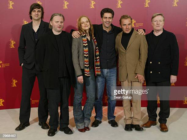 Actor Sebastian Schipper, playwright Jon Fosse, actress Anne Ratte-Polle, director Romuald Karmakar, actor Frank Giering and actor Manfred Zapatka...