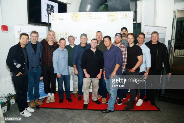 Actor Sebastian Stan, actor Liam Neeson, musician Matisyahu, hockey player Ken Daneyko, hockey player George Parros, actor Taylor Kitsch, trainer Don...