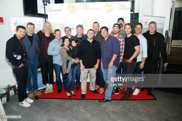 Actor Sebastian Stan, actor Liam Neeson, musician Matisyahu, MDC Productions founder Meagan Celeste, hockey player Ken Daneyko, hockey player George...