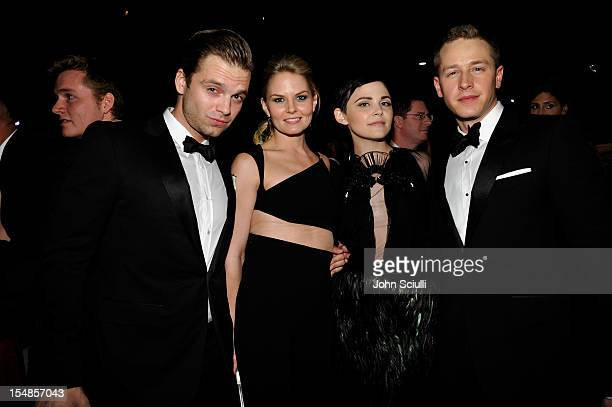 Actor Sebastian Stan Actress Jennifer Morrison Actress Ginnifer Goodwin and Actor Josh Dallas attend LACMA 2012 Art Film Gala Honoring Ed Ruscha and...