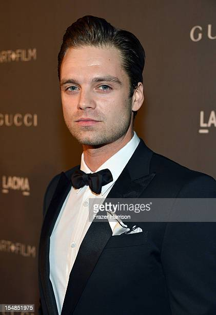Actor Sebastian Stan arrives at LACMA 2012 Art Film Gala Honoring Ed Ruscha and Stanley Kubrick presented by Gucci at LACMA on October 27 2012 in Los...