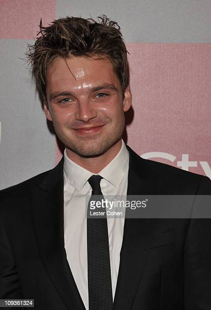 Actor Sebastian Stan arrives at the 2011 InStyle And Warner Bros 68th Annual Golden Globe Awards postparty held at The Beverly Hilton hotel on...