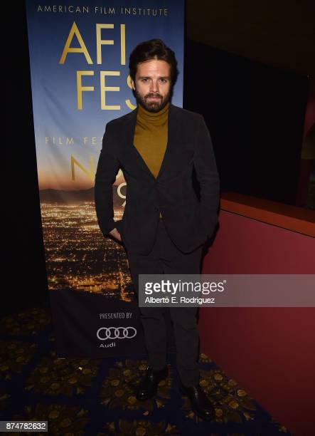 Actor Sebastian Stan attends a screening of I Tonya during AFI FEST 2017 Presented By Audi at Egyptian Theatre on November 15 2017 in Hollywood...
