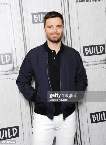 Actor Sebastian Stan attends Build Series to discuss 'Avengers Infinity War' at Build Studio on May 3 2018 in New York City