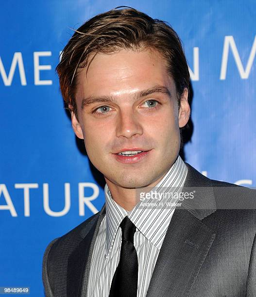 Actor Sebastian Stan attends the 2010 AMNH Museum Dance at the American Museum of Natural History on April 15 2010 in New York City