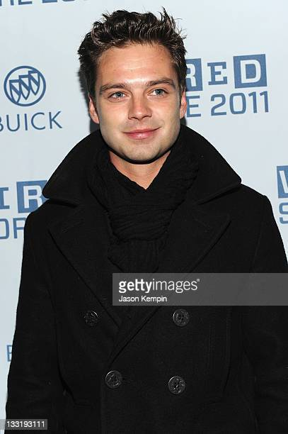Actor Sebastian Stan attends The 2011 Wired Store Launch Party at Wired 2011 Store on November 17 2011 in New York City