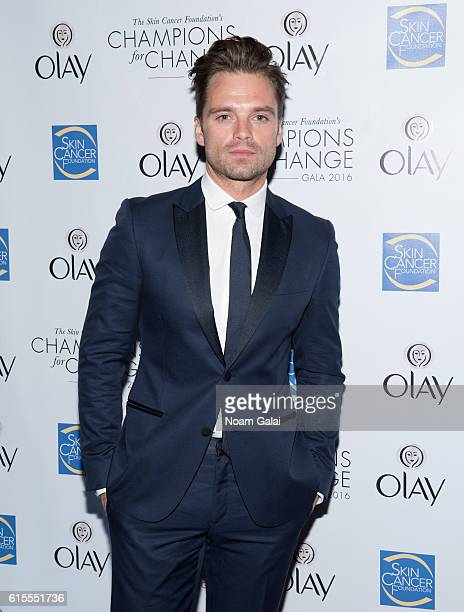 Actor Sebastian Stan attends the 2016 Skin Cancer Foundation media award at Mandarin Oriental New York on October 18 2016 in New York City