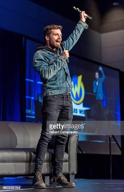 Actor Sebastian Stan attends the 2018 Wizard World Comic Con at Pennsylvania Convention Center on May 19 2018 in Philadelphia Pennsylvania