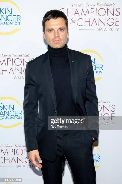 Actor Sebastian Stan attends the 2019 Skin Cancer Foundation's Champions For Change Gala at The Plaza Hotel on October 17 2019 in New York City
