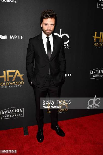 Actor Sebastian Stan attends the 21st Annual Hollywood Film Awards at The Beverly Hilton Hotel on November 5 2017 in Beverly Hills California