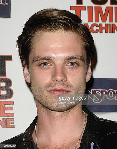 Actor Sebastian Stan attends the after party for the premiere of 'Hot Tub Time Machine' at Cabana Club on March 17 2010 in Hollywood California