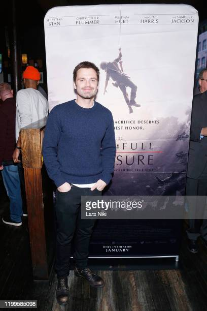 """Actor Sebastian Stan attends the after party for the special screening of """"The Last Full Measure"""" for active and retired military servicemen hosted..."""