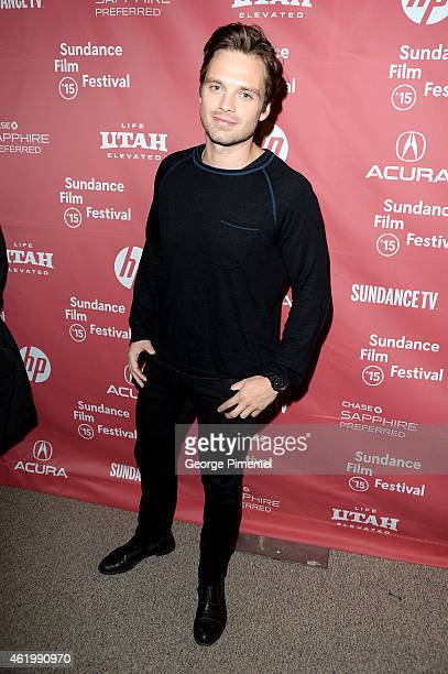 Actor Sebastian Stan attends The Bronze Premiere at the Eccles Center Theatre during the 2015 Sundance Film Festival on January 22 2015 in Park City...