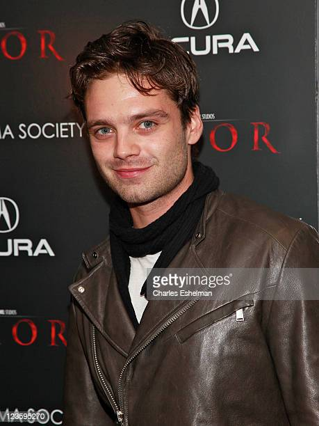 Actor Sebastian Stan attends the Cinema Society Acura special screening of 'Thor' at AMC Loews 19th Street East 6 theater on April 28 2011 in New...