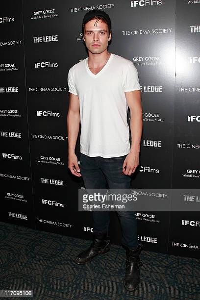 Actor Sebastian Stan attends The Cinema Society Grey Goose host a screening of 'The Ledge' at Landmark Sunshine Cinema on June 21 2011 in New York...