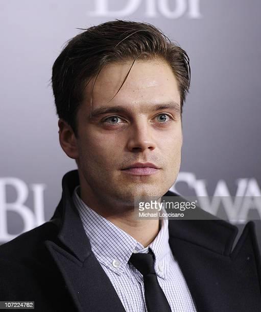 Actor Sebastian Stan attends the New York Premiere of 'Black Swan' at Ziegfeld Theatre on November 30 2010 in New York City