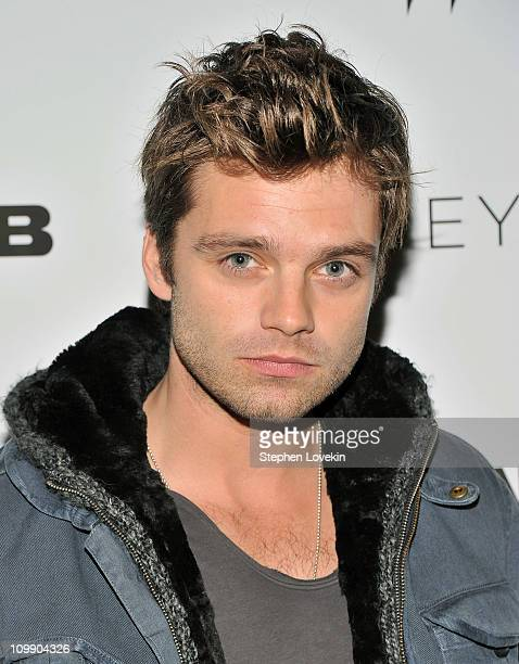 Actor Sebastian Stan attends the New York premiere of 'Jane Eyre' at the Tribeca Grand Hotel Screening Room on March 9 2011 in New York City