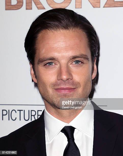8fbd330abd Actor Sebastian Stan attends the premiere of Sony Pictures Classics  The  Bronze at SilverScreen Theater