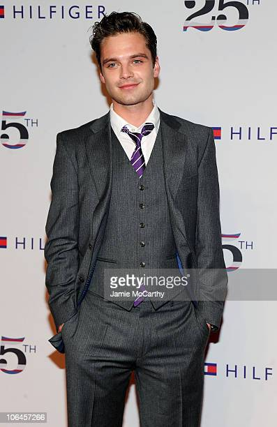 Actor Sebastian Stan attends the Tommy Hilfiger 25th anniversary celebration at The Metropolitan Opera House on September 12 2010 in New York City
