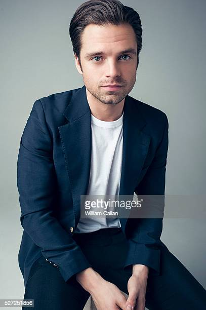 Actor Sebastian Stan is photographed for August Man on March 4 2016 in Los Angeles California PUBLISHED IMAGE