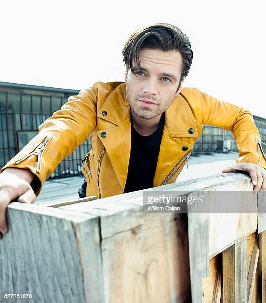 Actor Sebastian Stan is photographed for August Man on March 4 2016 in Los Angeles California
