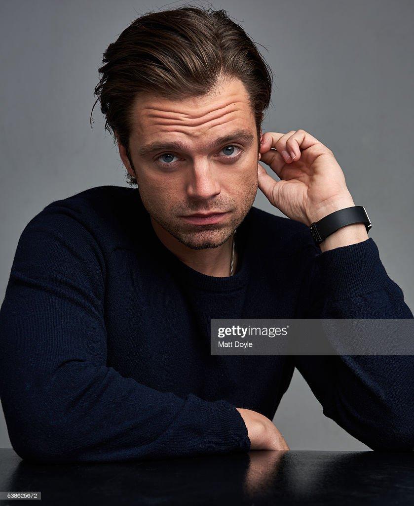 Sebastian Stan, BackStage, May 5, 2016 : News Photo