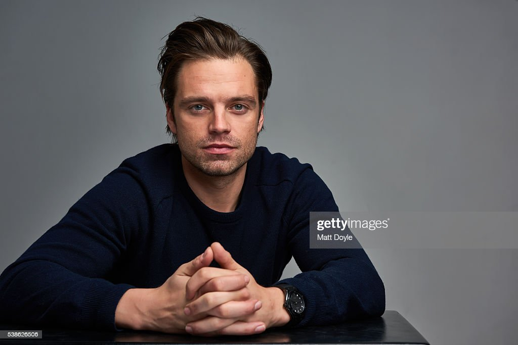 Sebastian Stan, BackStage, May 5, 2016 : News Photo