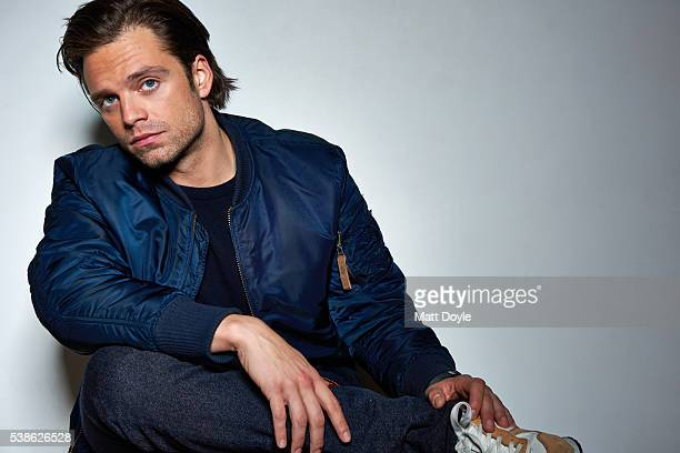 Actor Sebastian Stan is photographed for Back Stage on April 1 2016 in New York City PUBLISHED IMAGE