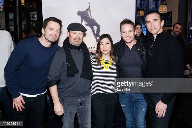 Actor Sebastian Stan, writer and director Todd Robinson, MDC Productions founder Meagan Celeste, actor Travis Aaron Wade and producer Sidney Sherman...