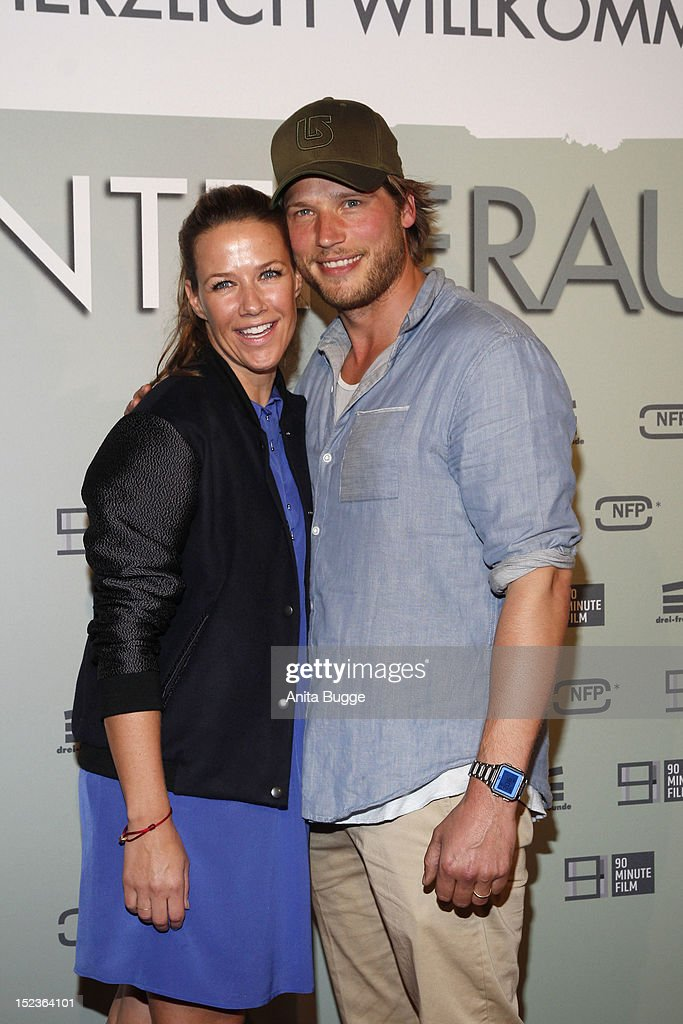 Actor Sebastian Stroebel and actress Alexandra Neldel
