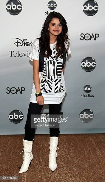 Actor Selena Gomez attends the 2007 ABC All Star Party held at the Beverly Hilton Hotel on July 26 2007 in Beverly Hills California