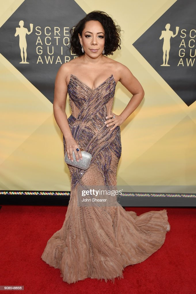 Actor Selenis Leyva attends the 24th Annual Screen Actors Guild Awards at The Shrine Auditorium on January 21, 2018 in Los Angeles, California.