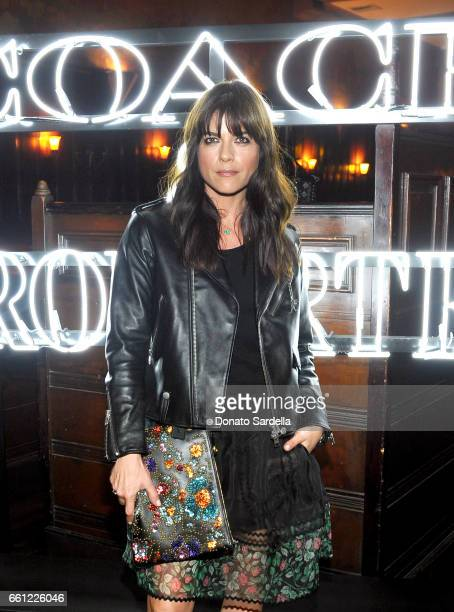 Actor Selma Blair attends the Coach Rodarte celebration for their Spring 2017 Collaboration at Musso Frank on March 30 2017 in Hollywood California
