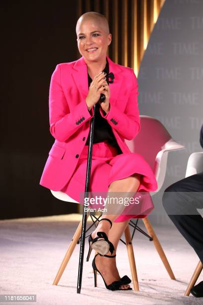 Actor Selma Blair speaks onstage during the TIME 100 Health Summit at Pier 17 on October 17, 2019 in New York City.