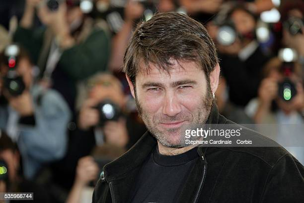 Actor Sergi Lopez at the Peindre ou Faire l'Amour photocall during the 58th Cannes Film Festival